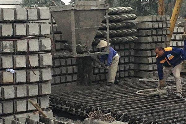 QUY trình Sản xuất cọc bê tông