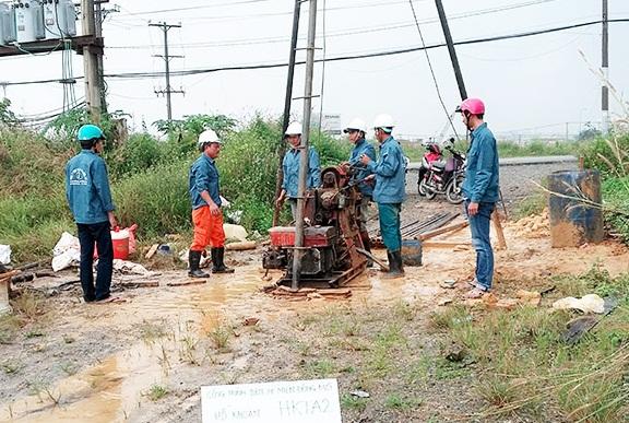 Khoan khảo sát địa chất công trình
