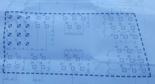 Cọc bê tông 250x250 cho công trình 7 tầng